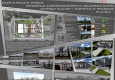 Projektowana przestrzeń to dach Centrum Kultury i...