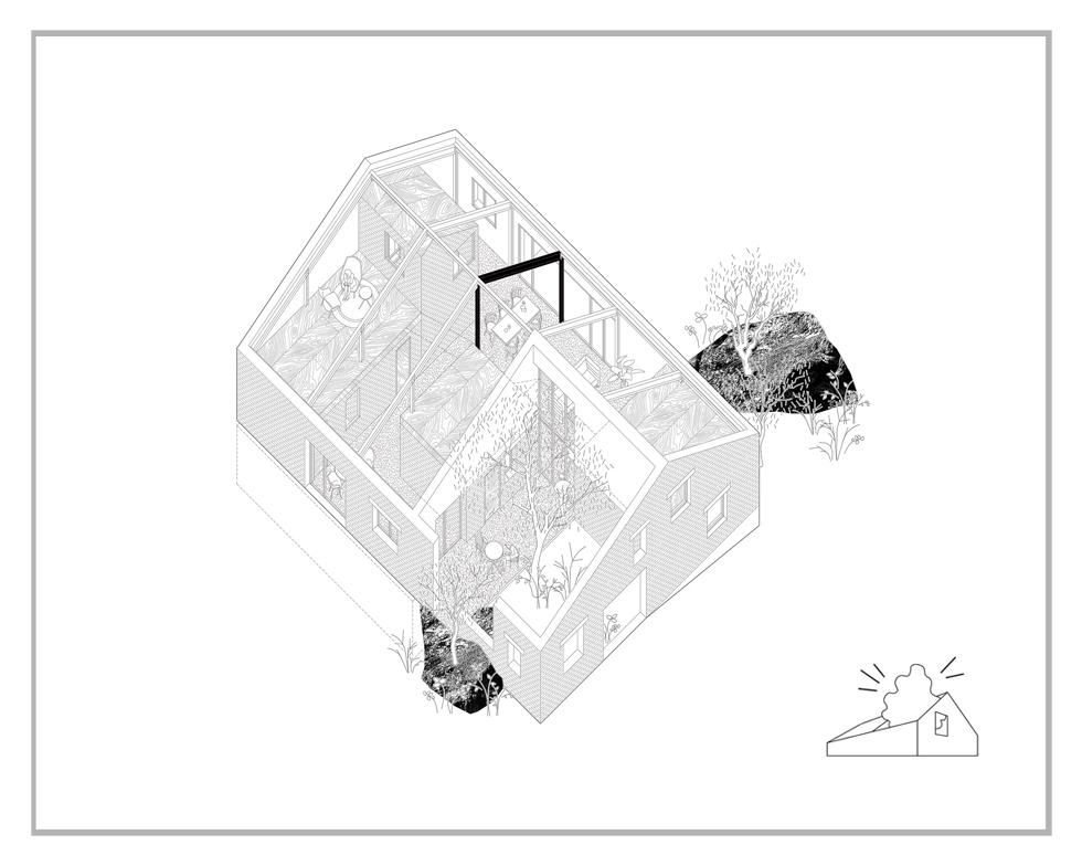 Casa r - dom, po którym można spacerować