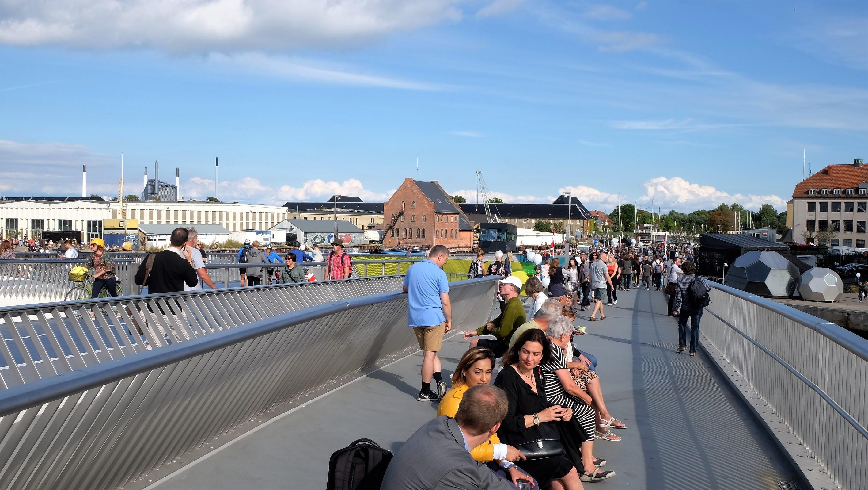 Inderhavn bro Copenhagen