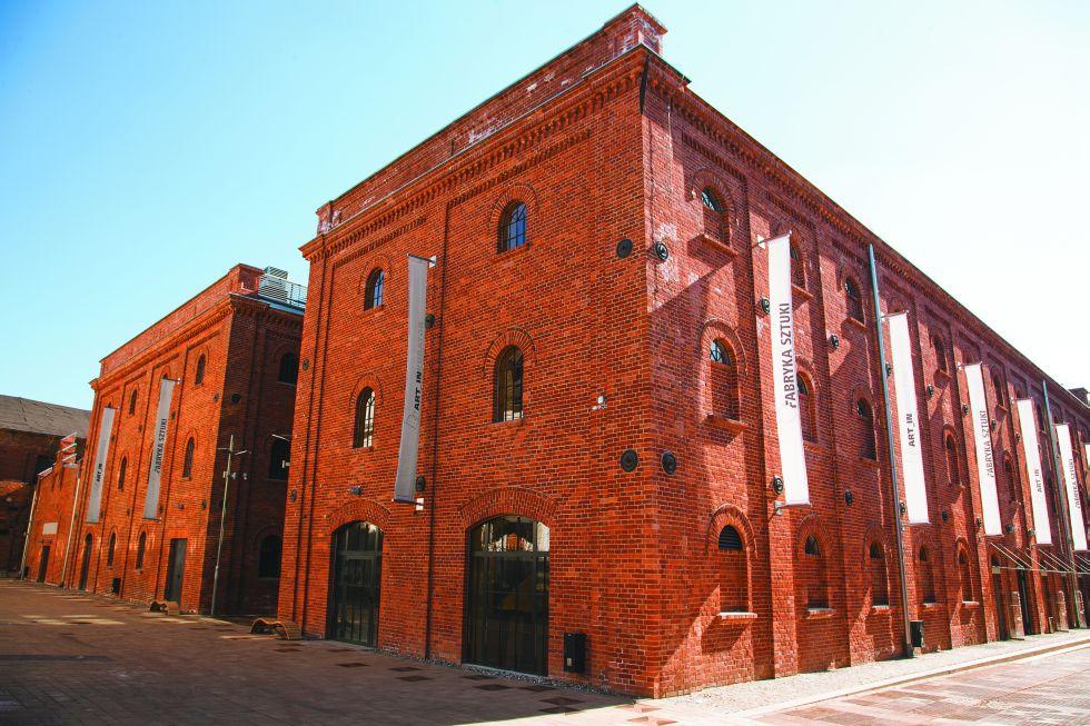 Art_Inkubator w Fabryce Sztuki w Łodzi
