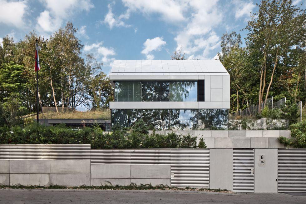 Dom jednorodzinny Gdynia, Ul. Prusa