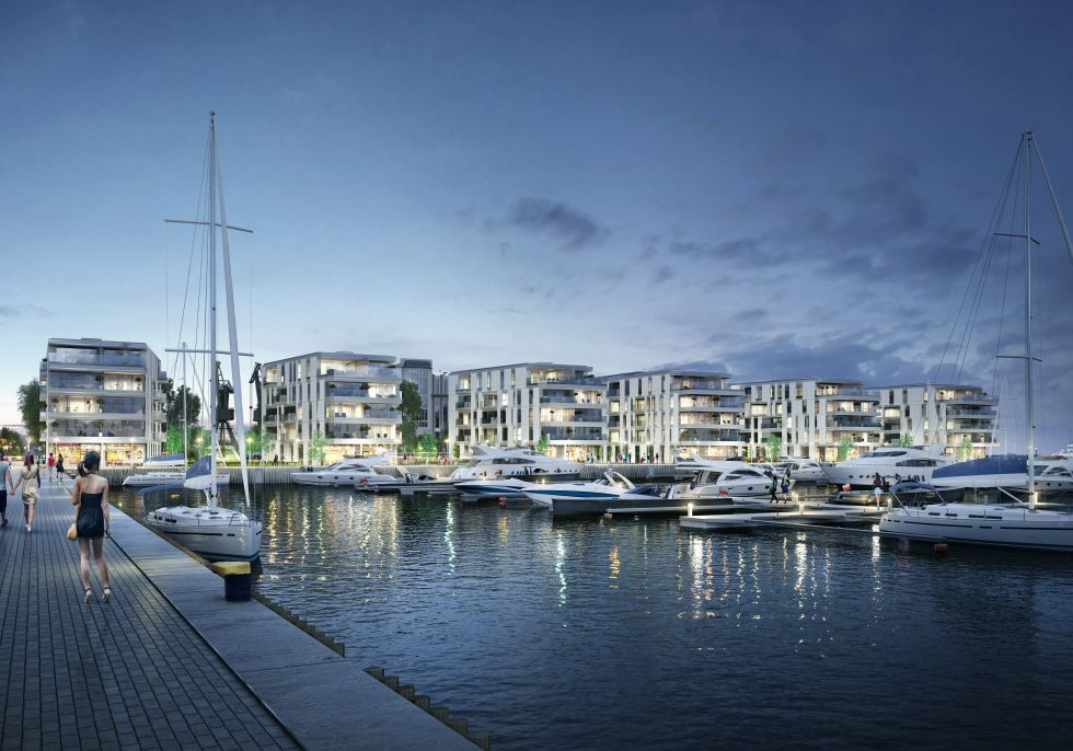 Rewitalizacja nabrzeża Dalmoru - Yacht Park Gdynia
