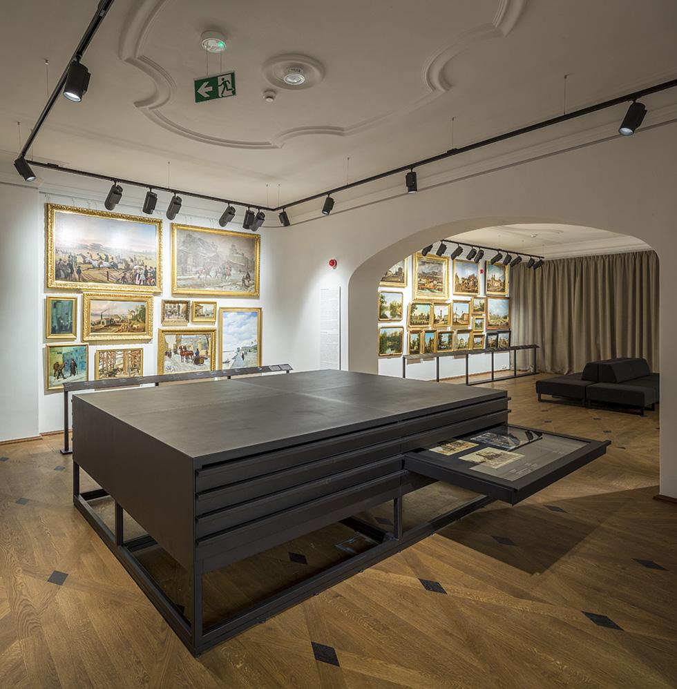 Wystawa główna Muzeum Warszawy