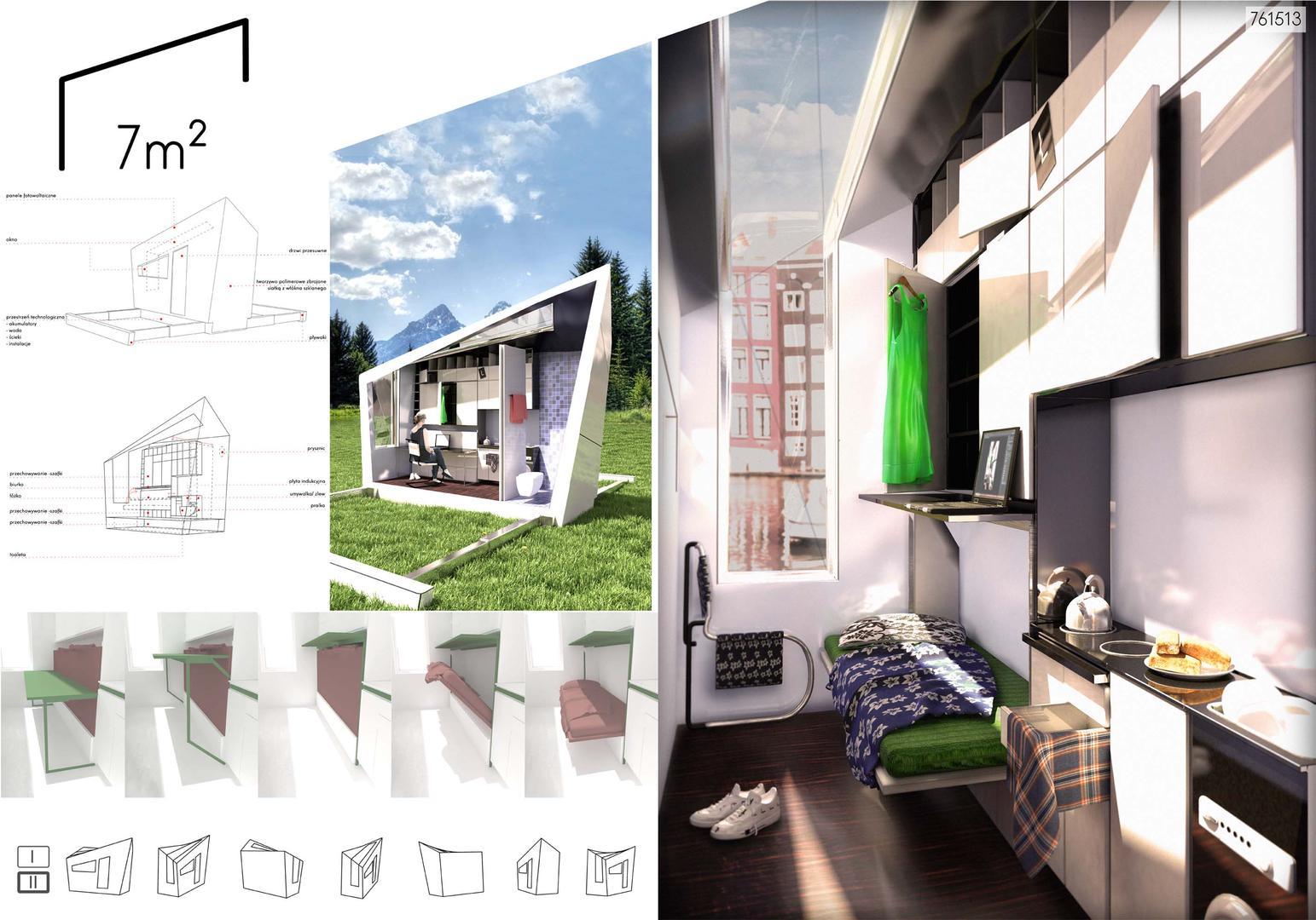 Jednostka Mieszkalna Minimum Projekt Architektura Murator