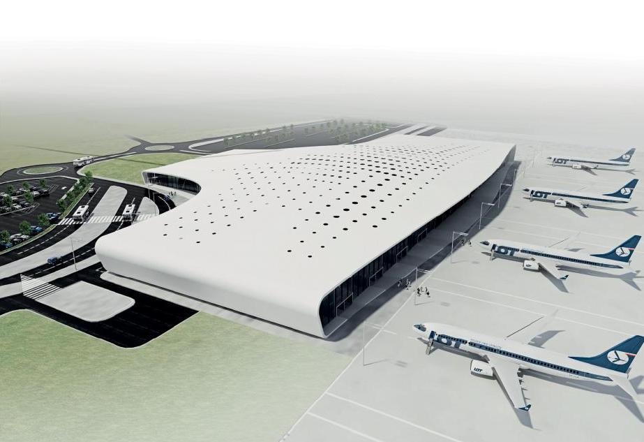 Lotnisko Lublin w Swidniku: wizualizacja
