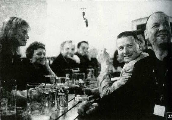 Młodzi do Łodzi 2003: piątkowy wieczór w pubie Łódź Kaliska