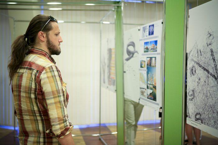 Młodzi do Łodzi 2008: architekt Adam Markuszewski. Wystawa prac uczestników Młodzi do Łodzi 2008