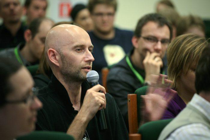 Młodzi do Łodzi 2008: architekt Wojciech Przywecki