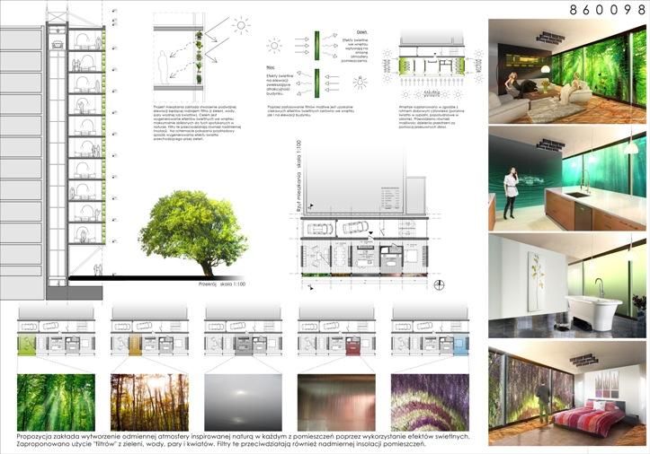 Marcin Szewczyk, projekt wykorzystania ścian szczytowych w blokach mieszkalnych