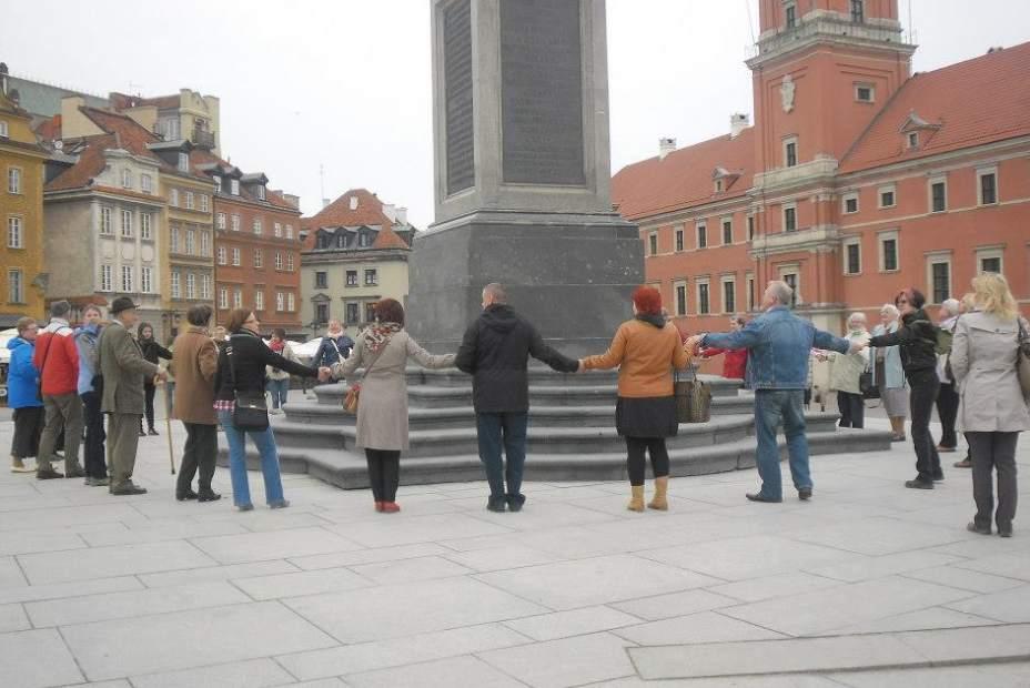 Dni Gospodarki Przestrzennej zorganizowane przez koło naukowe Spatium: Plac Zamkowy w Warszawie