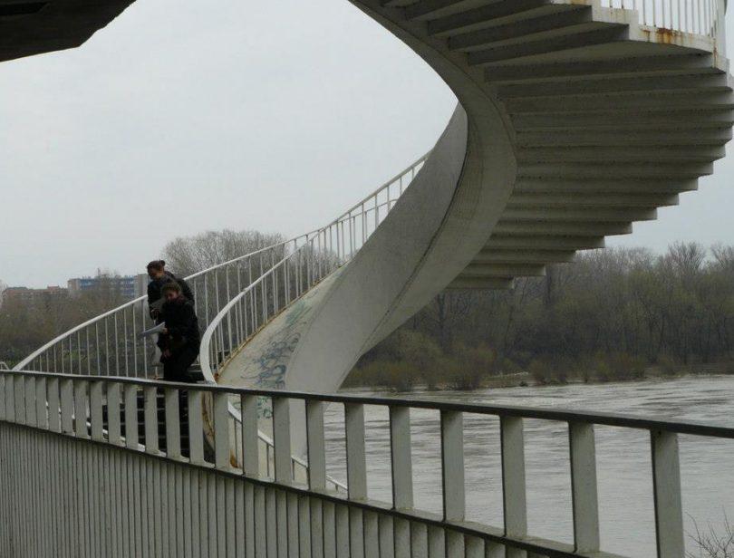 Dni Gospodarki Przestrzennej zorganizowane przez koło naukowe Spatium: most Gdański w Warszawie