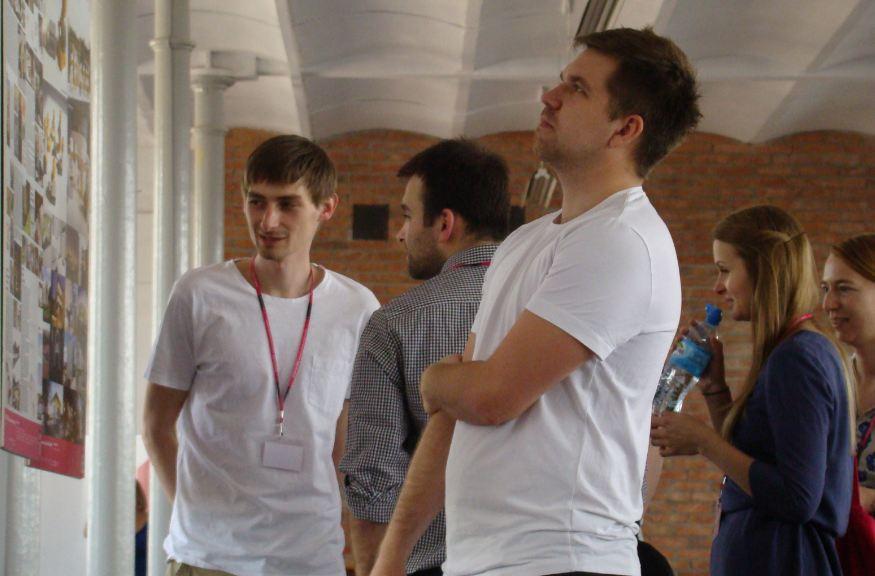 Wystawa Młodzi do Łodzi 2013: uczestnicy spotkania