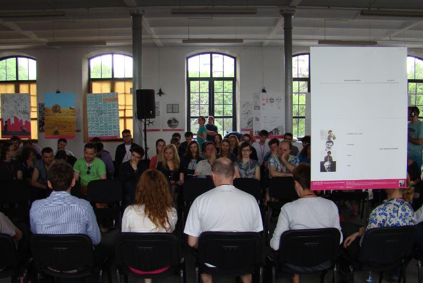 Młodzi do Łodzi - uczestnicy spotkania - na pierwszym planie paneliści