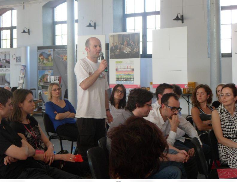 Hubert Trammer o podziale archietektury na dyscypliny. Młodzi do Łodzi 2013, 18 maja