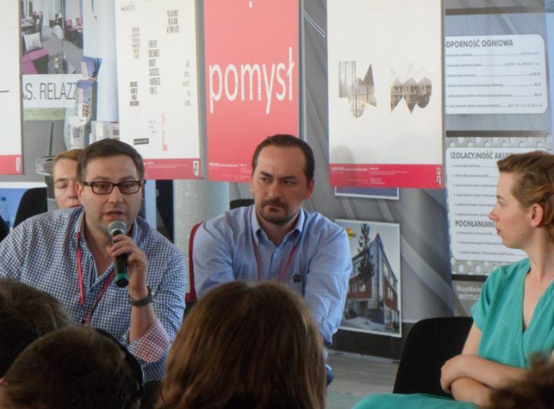Panel Kondycja i dyscyplina. Sobota 18 maja, Młodzi do Łodzi 2013
