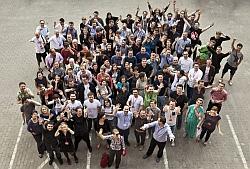 Młodzi do łodzi 2013 wspólne zdjęcie uczestników