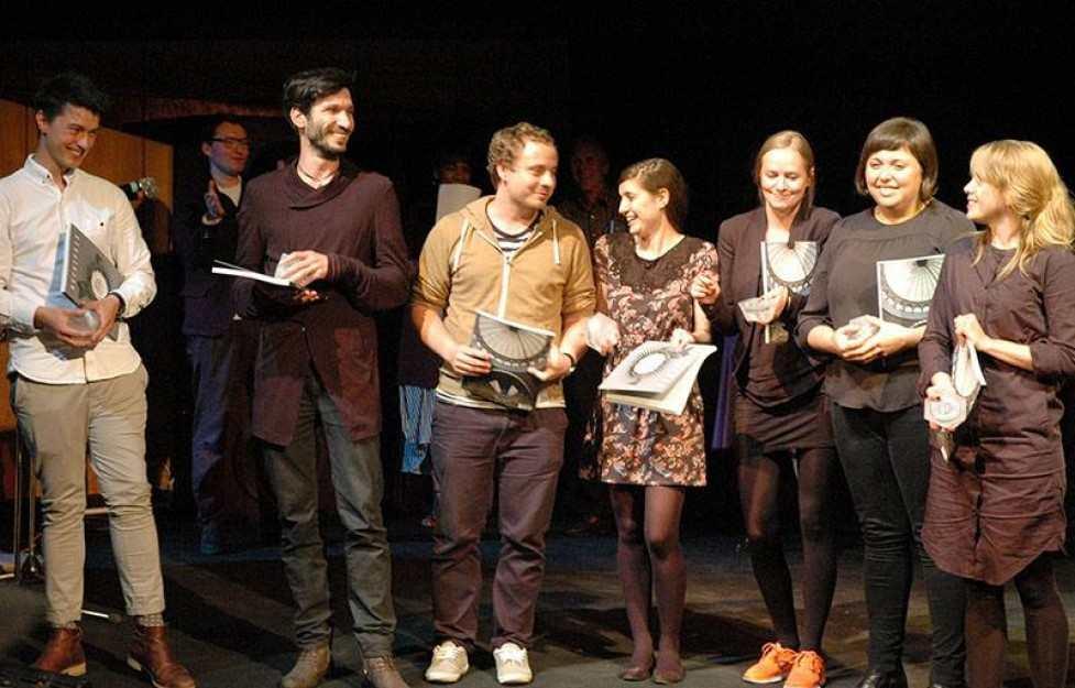 Laureaci Archiprix International / Hunter Douglas Awards 2013, w centrum Hugon Kowalski. Fot. materiały prasowe  Archiprix