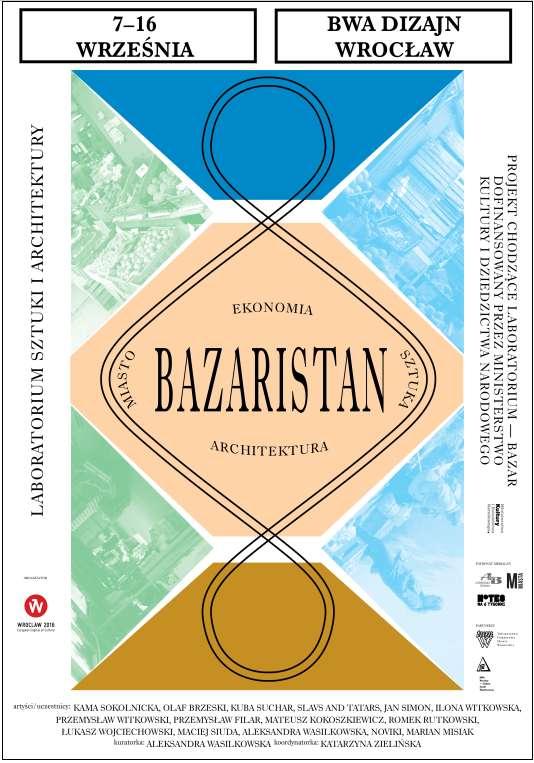Bazaristan: wystawa podsumowująca projekt przebudowy targowiska na Nadodrzu we Wrocławiu