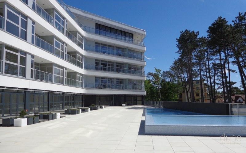 Apartamentowiec Dune, nowa inwestycja w Mielnie. Fot. Firmus Group