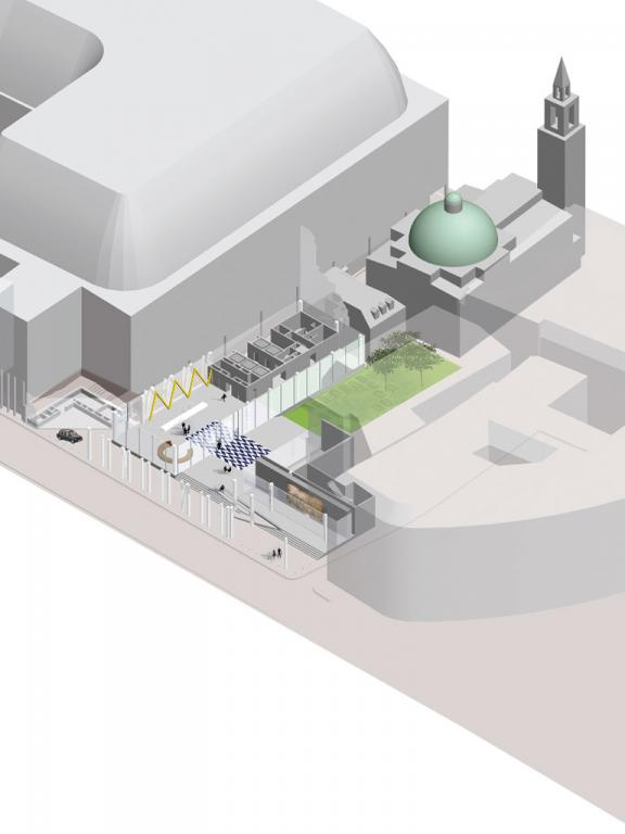 Nowa siedziba banku Rotschildów, Londyn. Fot.  ©OMA materiały prasowe Mies van der Rohe Award 2013