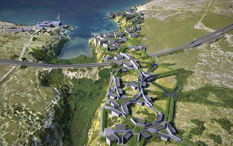 Sztuczne korytarze biotyczne - projektowanie parametryczne w praktyce. AION, Syrakuzy, Włochy, projekt 2004-2005