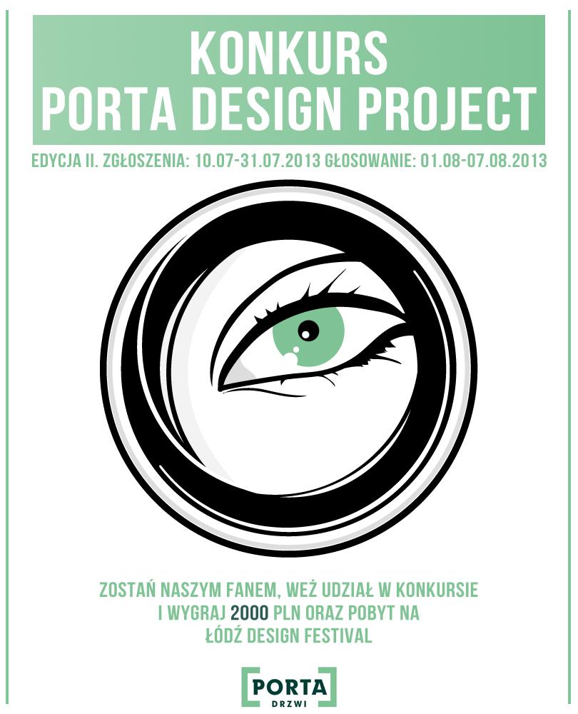Konkurs PORTA Drzwi i Łódź Design Festival