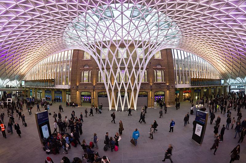 Stacja King's Cross, Londyn, Wielka Brytania. Projekt: John McAslan, 2012
