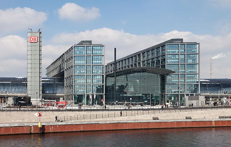 Dworzec Berlin Hauptbahnhof