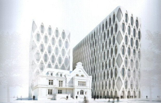 Park naukowo-technologiczny Nobel Tower, wizualizacja Studio ADS