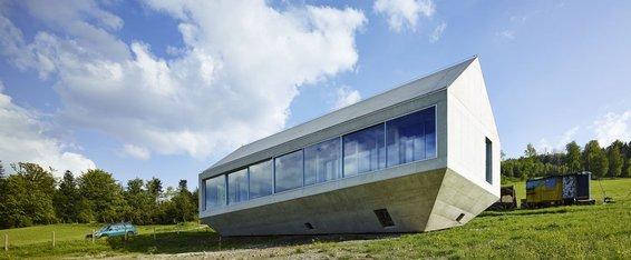 Arka Koniecznego, proj. Robert Konieczny, 2011, Brenna. Materiały prasowe - III Wekend Architektury w Gdyni