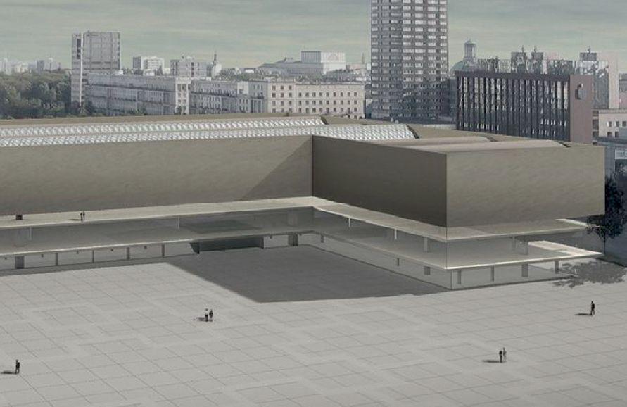 I nagroda w konkursie na projekt Muzeum Sztuki Nowoczesnej. Autor: Christian Kerez Architect ETH\SIA, Szwajcaria Fot. materiały prasowe konkursu, MSN