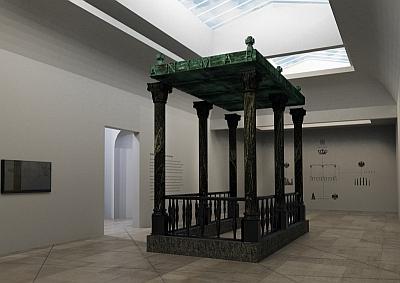 Wystawa Figury niemożliwe - wizualizacja / Kacper Kępiński - Instytut Architektury