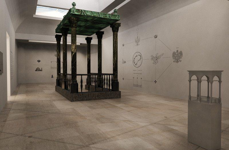 Figury niemożliwe - wizualizacja. fot. Kacper Kępiński - Instytut Architektury, www.instytutarchitektury.org