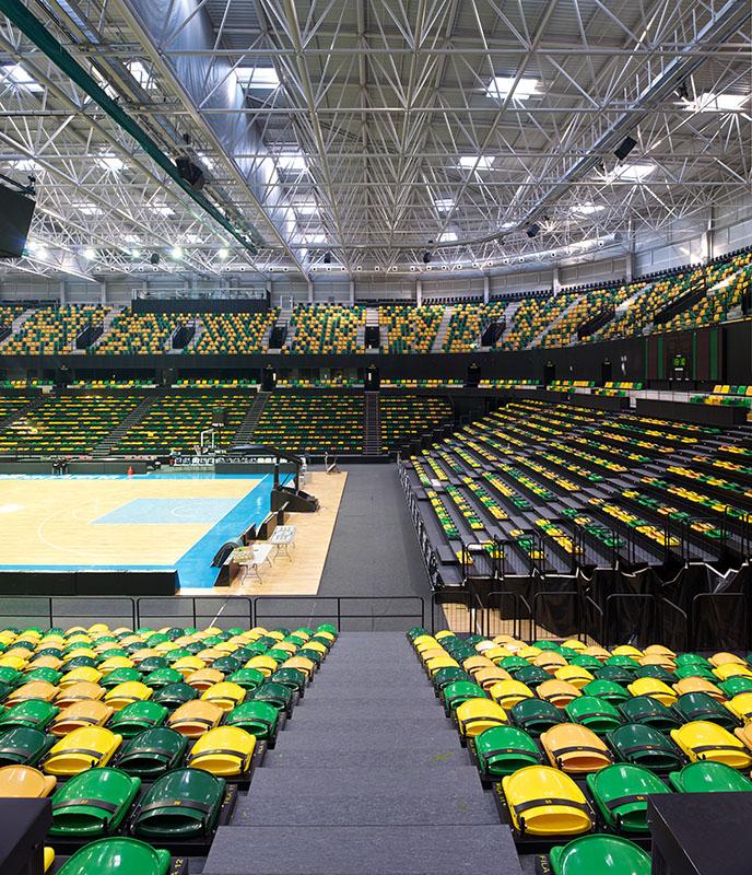 Bilbao Arena, trybuny. Fot. ACTX