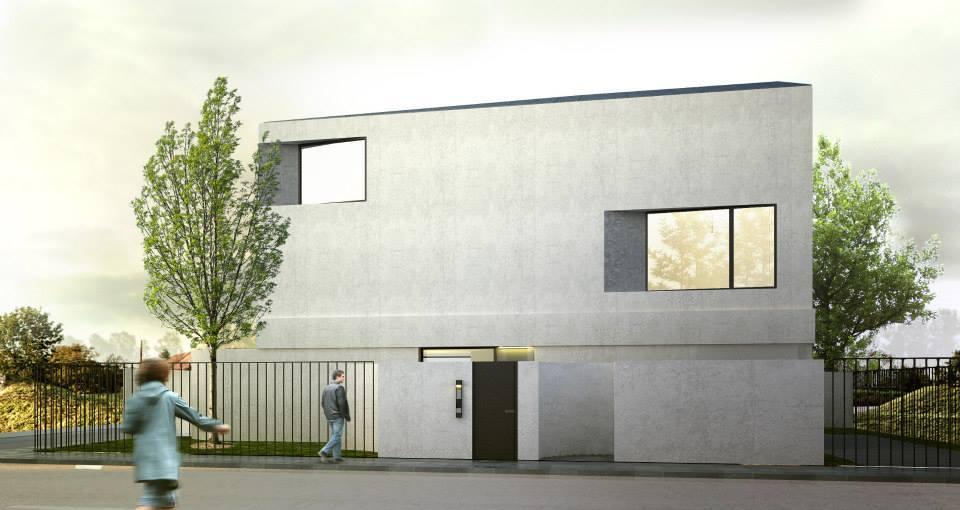 Dom z widokiem, Warszawa, projekt 2012, realizacja od 2013. +48 Grupa Projektowa