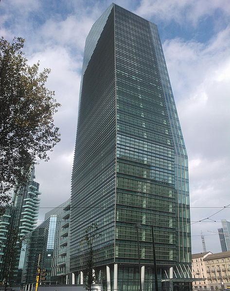 Wieżowiec Torre Diamante, Mediolan, autorzy: Kohn Pederson Fox