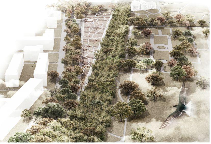 I nagrodę w konkursie architektonicznym na projekt Ogrodu XXI wieku i pawilonu wystawowego otrzymały pracownie Mecanoo Architecten i jojko+nawrocki architekci