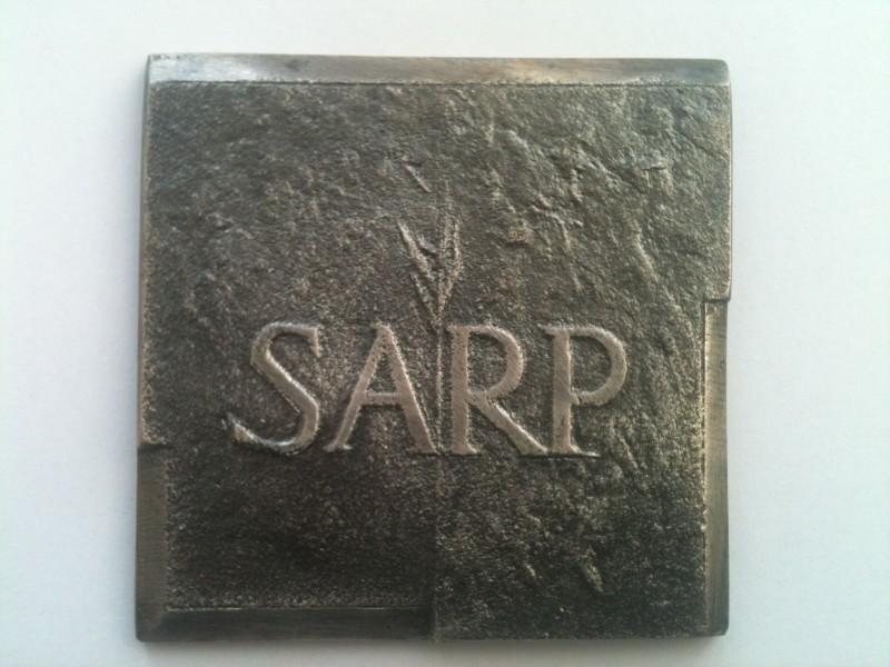 Honorowa Nagroda SARP statuetka