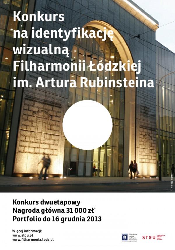 Filharmonia Łódzka. Konkurs na projekt identyfikacji wizualnej