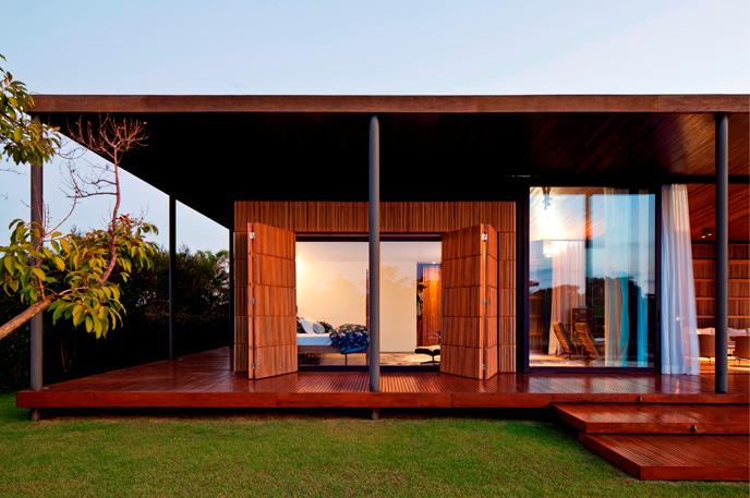 Współczesna architektura Brazylii: ML House, Porto Feliz\SP, Jacobsen Arquitetura, © Leonardo Finotti, materiały prasowe Niemieckiego Muzeum Architektury