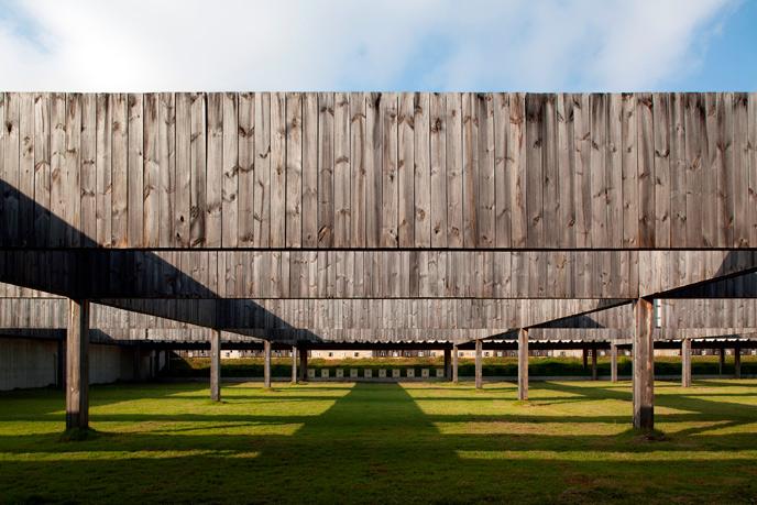 Burle Marx Education Center in Inhotim, Brumadinho\MG Arquitetos Associados © Leonardo Finotti, materiały prasowe Deutsches Architekturmuseum