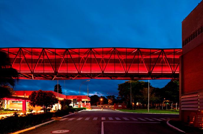 Współczesna architektura Brazylii: Muzeum Czekolady, Caçapava\SP, Metro Arquitetos Associados, © Leonardo Finotti, materiały prasowe Deutsches Architekturmuseum