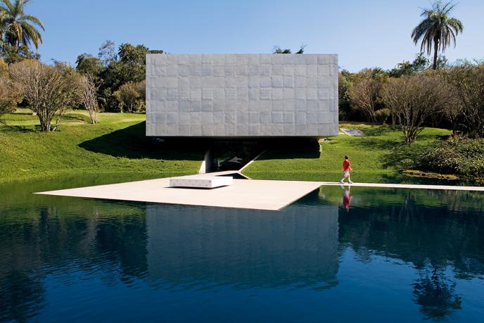 Współczesna architektura Brazylii: Galeria Adriana Varejão (2004-2008), Inhotim, Rodrigo Cerviño Lopez, © Leonardo Finotti, materiały prasowe Deutsches Architekturmuseum