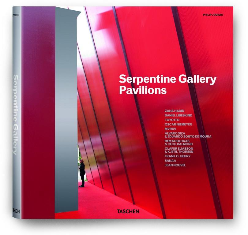 Philip Jodidio, Serpentine Gallery Pavilions, Taschen 2011, str. 356