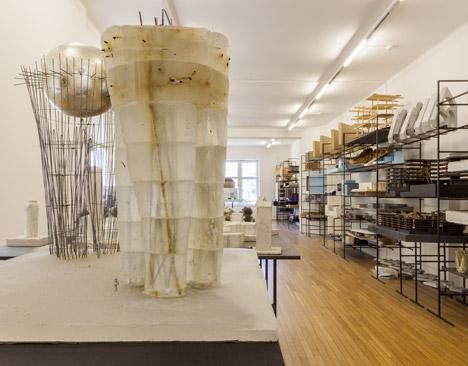 Wystawa architektonicznych modeli z pracowni Petera Zumthora. Fot. Markus Tretter © Kunsthaus Bregenz