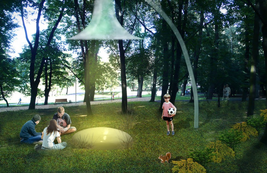 BudCud, projekt rewitalizacji Parku Tysiąclecia w Zielonej Górze