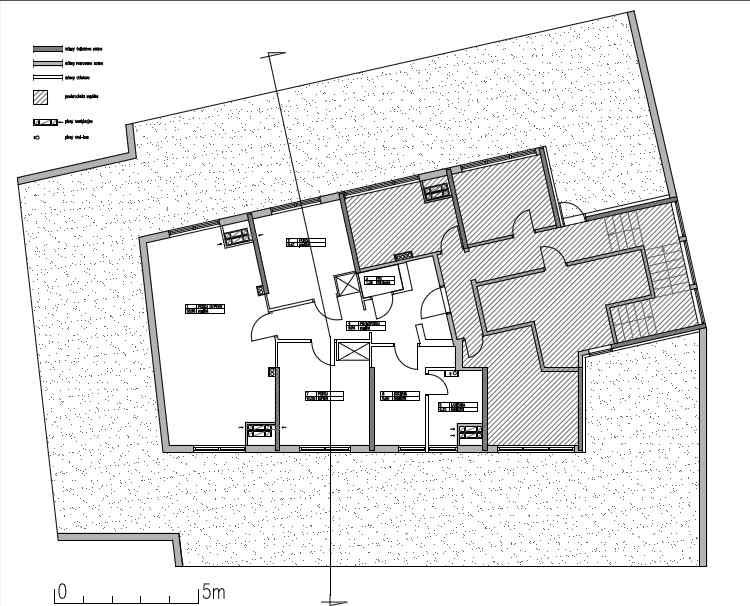 Rzut mieszkania - Konkurs Studencki Mieszkanie Młodego Architekta