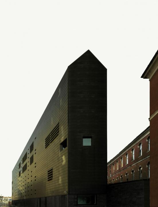 Współczesna architektura Włoch. Biurowiec sądu w Wenecji