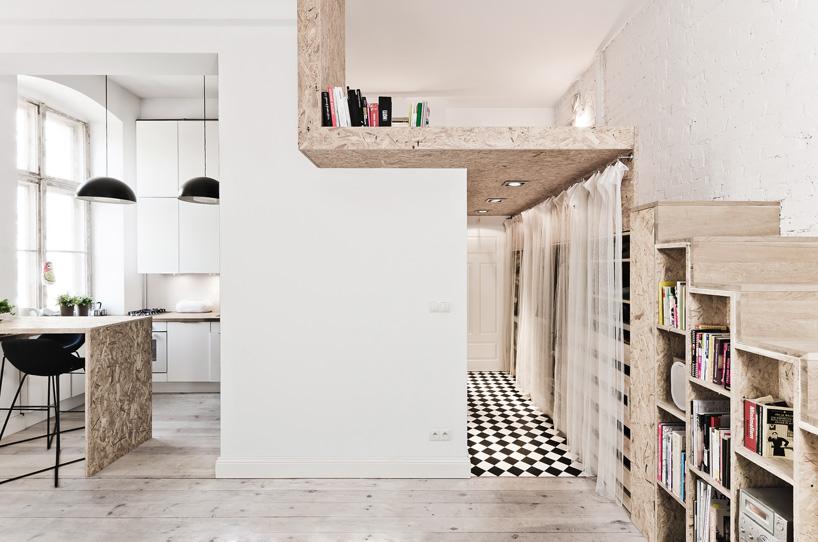 Mieszkanie we Wrocławiu, projekt 3XA