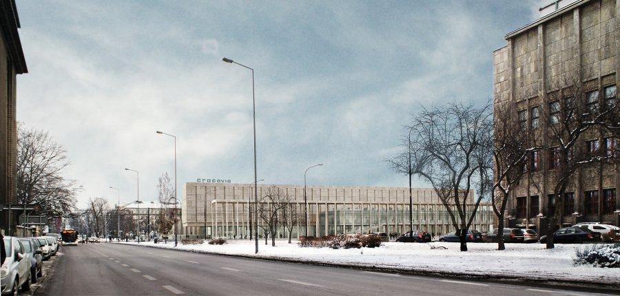 Nova Cracovia – budynek usługowo-handlowy projektu pracowni architektonicznej DDJM